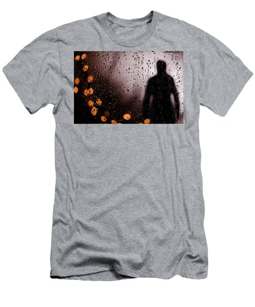 Take Your Light With You Men's T-Shirt (Slim Fit) by David Sutton