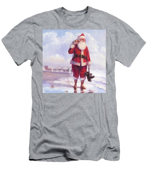 Men's T-Shirt (Athletic Fit) featuring the painting Taking A Break by Steve Henderson