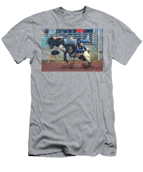 Men's T-Shirt (Slim Fit) featuring the photograph Taking The Fall by Lori Seaman