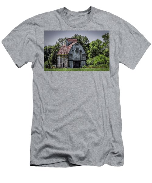 Men's T-Shirt (Slim Fit) featuring the photograph Tall Barn by Ray Congrove