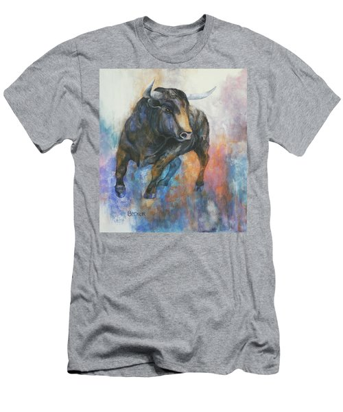 Tango On Wall Street Men's T-Shirt (Athletic Fit)