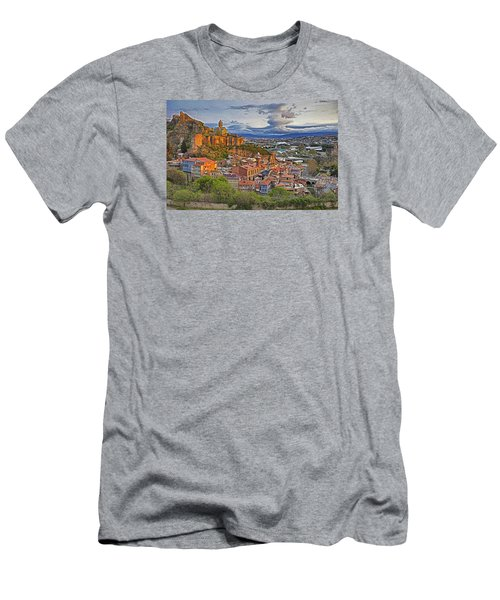 Tblisi Dawn Men's T-Shirt (Athletic Fit)