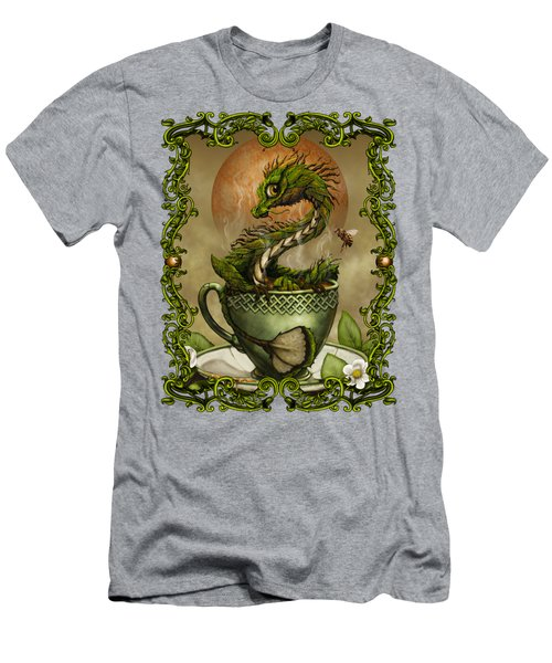 Tea Dragon T- Shirt Men's T-Shirt (Athletic Fit)