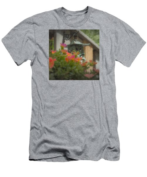 Tea Lantern And Portulaca Men's T-Shirt (Athletic Fit)