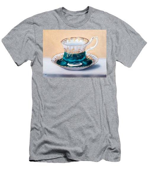 Teacup Men's T-Shirt (Athletic Fit)