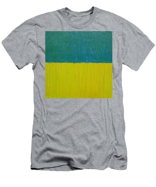 Teal Olive Men's T-Shirt (Athletic Fit)
