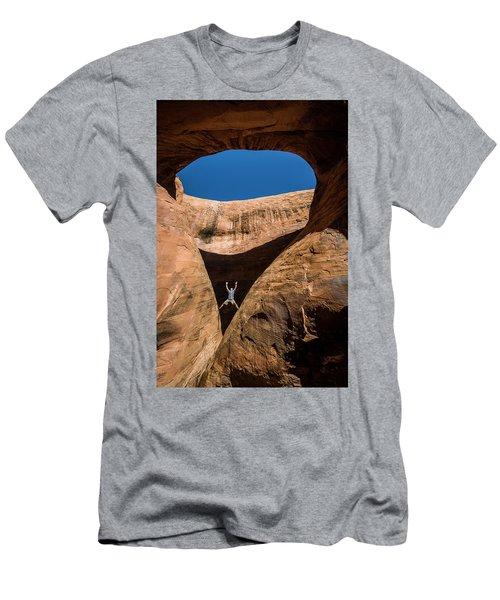 Teardrop Arch Men's T-Shirt (Athletic Fit)