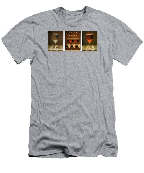 Men's T-Shirt (Athletic Fit) featuring the photograph Tears And Wine by James Lanigan Thompson MFA