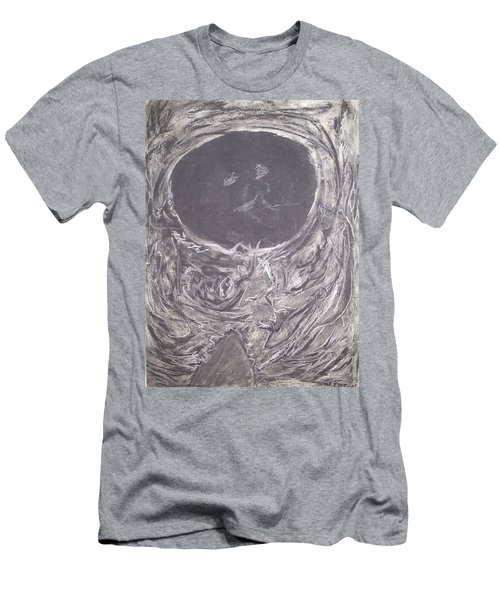 Teddy Bear Eye Detail Men's T-Shirt (Athletic Fit)