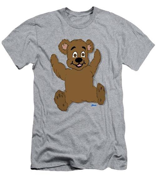 Teddy's First Portrait Men's T-Shirt (Athletic Fit)