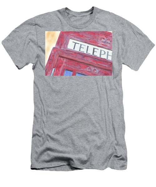 Telephone Booth Men's T-Shirt (Athletic Fit)