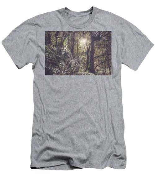 Temperate Rainforest Canopy Men's T-Shirt (Athletic Fit)