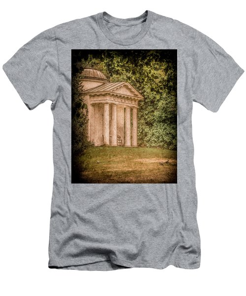 Kew Gardens, England - Temple Of Bellona Men's T-Shirt (Athletic Fit)