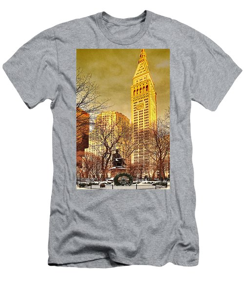 Ten Past Four At Madison Square Park Men's T-Shirt (Athletic Fit)