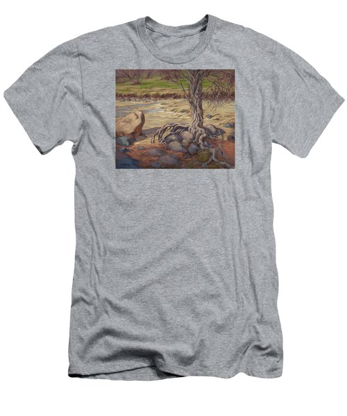 Tenacity Men's T-Shirt (Slim Fit) by Jane Thorpe