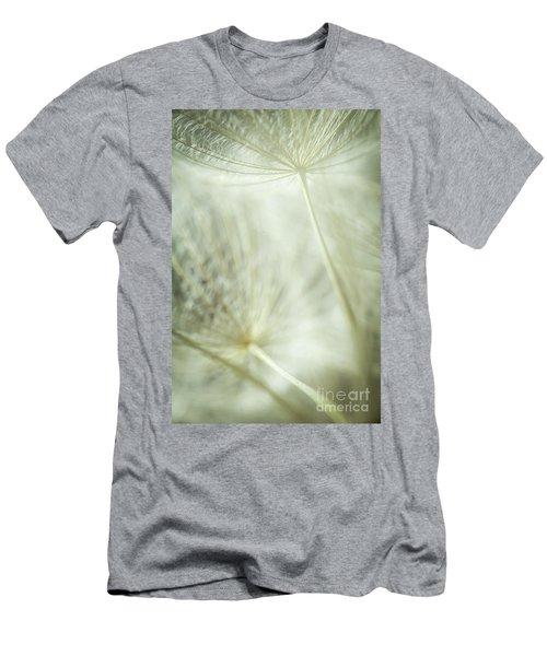 Tender Dandelion Men's T-Shirt (Slim Fit) by Iris Greenwell