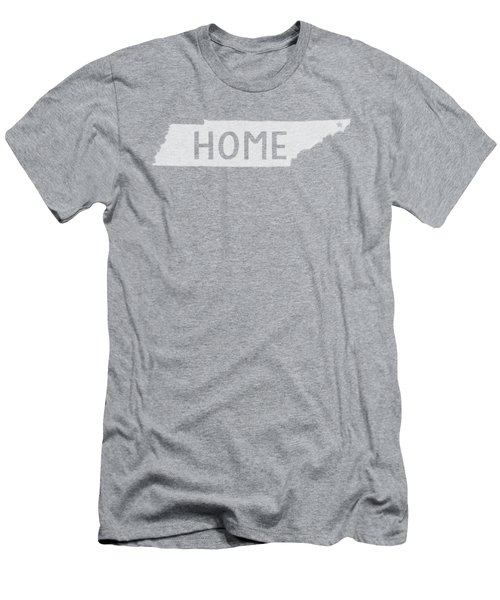 Men's T-Shirt (Slim Fit) featuring the photograph Tennessee Home White by Heather Applegate