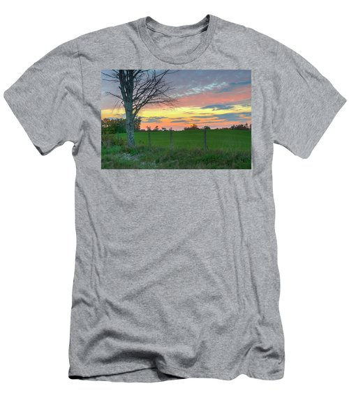 Men's T-Shirt (Athletic Fit) featuring the photograph Tennessee Sunset by David Waldrop