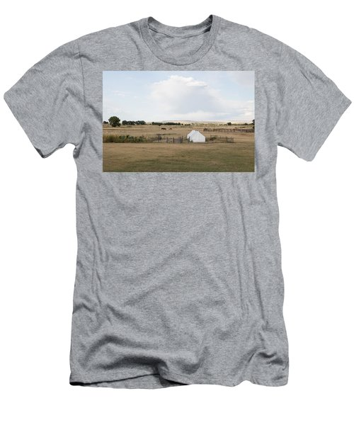 Men's T-Shirt (Slim Fit) featuring the photograph Tents At Fort Laramie National Historic Site In Goshen County by Carol M Highsmith