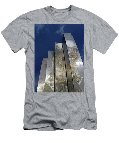Men's T-Shirt (Slim Fit) featuring the photograph Termination by Christopher McKenzie
