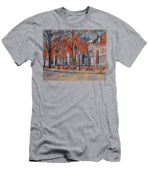 Terrace In The Grand Tanners Street Maastricht Men's T-Shirt (Slim Fit) by Nop Briex