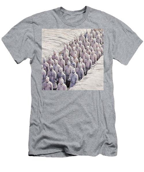 Terracotta Warriors Men's T-Shirt (Athletic Fit)