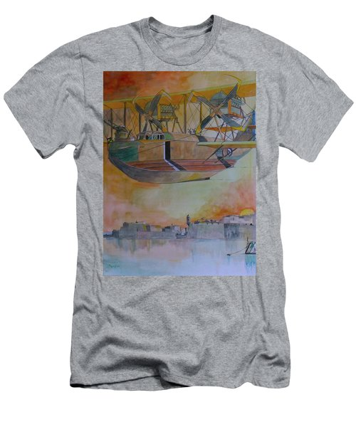 Test Flight Men's T-Shirt (Slim Fit) by Ray Agius