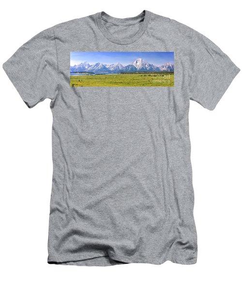 Teton Panorama Men's T-Shirt (Athletic Fit)