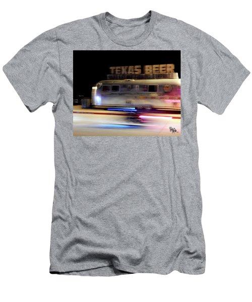 Texas Beer Fast Motorcycle #5594 Men's T-Shirt (Slim Fit) by Barbara Tristan