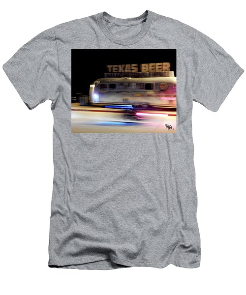 Texas Beer Fast Motorcycle #5594 Men's T-Shirt (Athletic Fit)