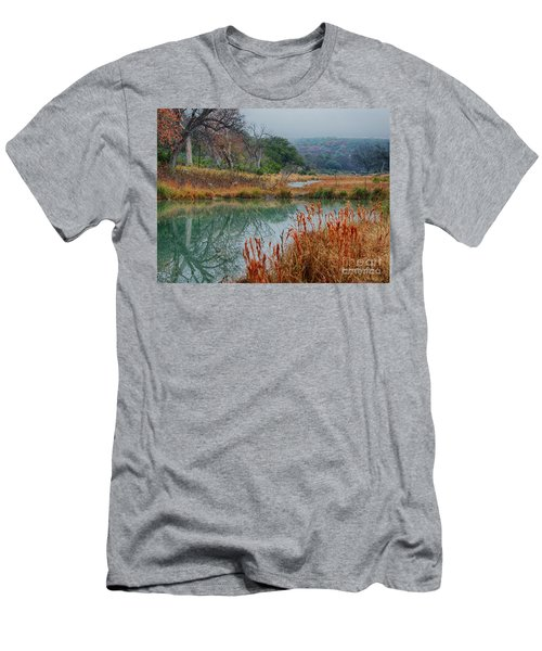 Texas Hill County Color Men's T-Shirt (Athletic Fit)