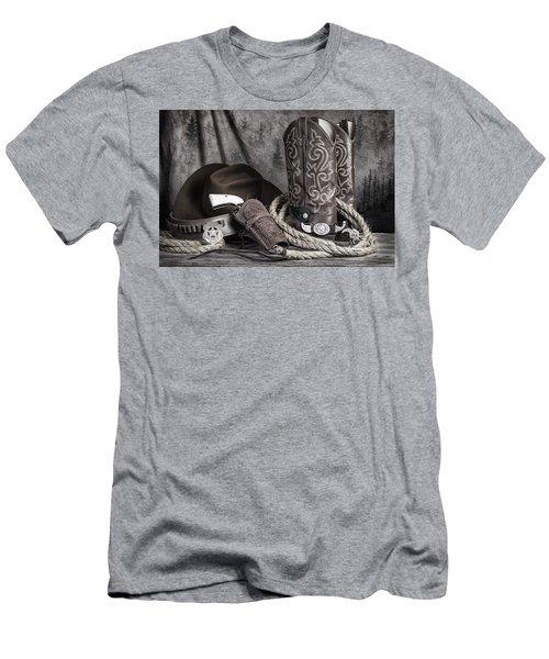 Texas Lawman Men's T-Shirt (Athletic Fit)