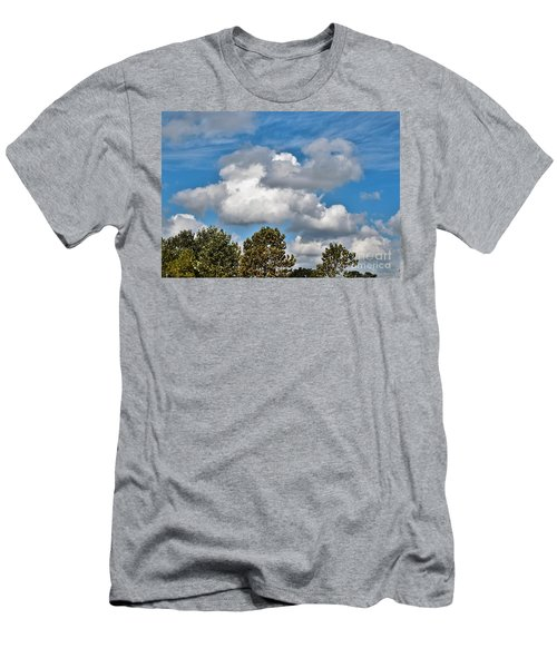 Men's T-Shirt (Slim Fit) featuring the photograph Texas - Reach For The Sky.   by Ray Shrewsberry