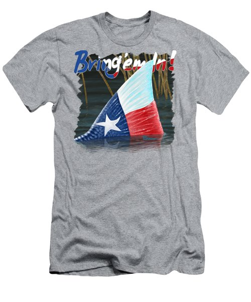 Texas Tails Men's T-Shirt (Athletic Fit)