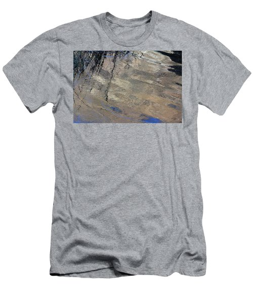 Texture In Grey Men's T-Shirt (Athletic Fit)