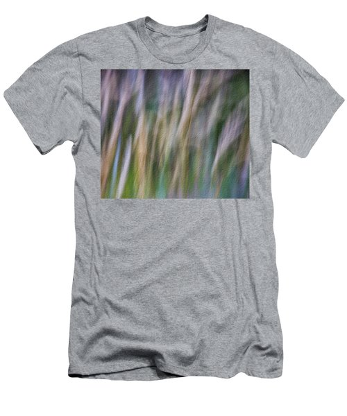 Textured Abstract Men's T-Shirt (Athletic Fit)