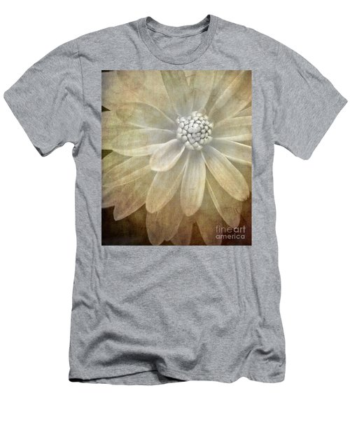 Textured Dahlia Men's T-Shirt (Athletic Fit)