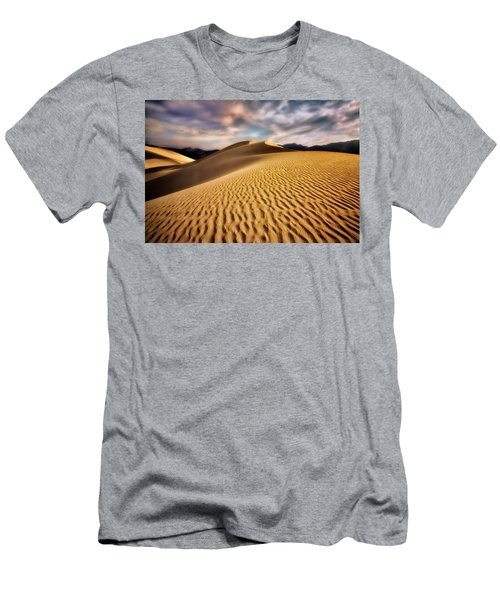 Textured Dunes  Men's T-Shirt (Slim Fit) by Nicki Frates