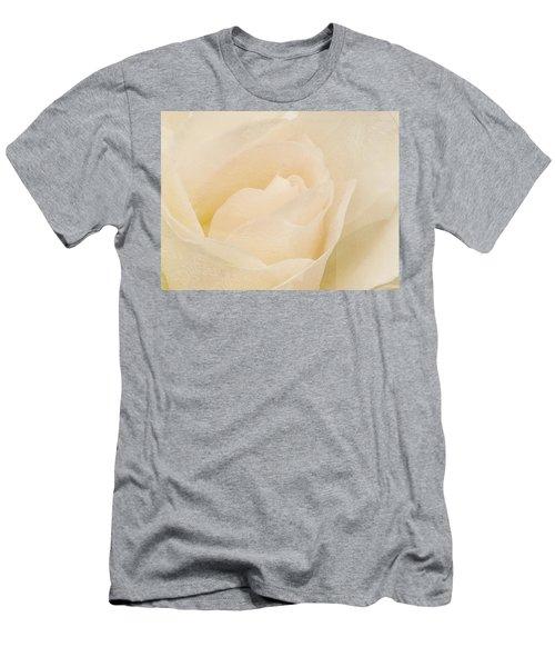 Textured Pastel Rose Men's T-Shirt (Athletic Fit)