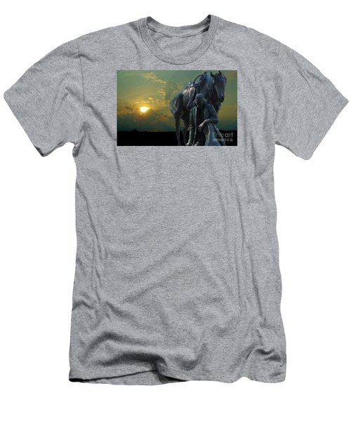 Thanks For The Rain  Men's T-Shirt (Slim Fit) by Janette Boyd