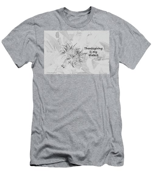 Thanks Giving Men's T-Shirt (Athletic Fit)