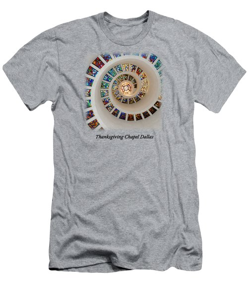 Thanksgiving Stained Glass V2 T-shirt Men's T-Shirt (Athletic Fit)