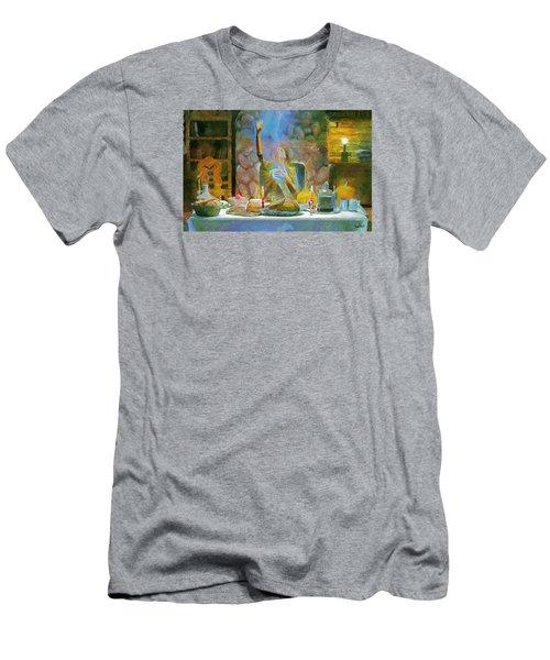 Thanksgiving Men's T-Shirt (Slim Fit) by Wayne Pascall
