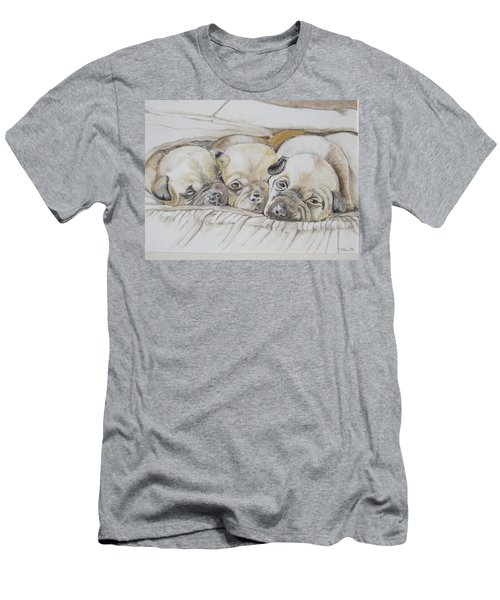The 3 Puppies Men's T-Shirt (Athletic Fit)