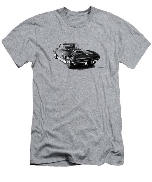 The 66 Vette Men's T-Shirt (Slim Fit) by Mark Rogan