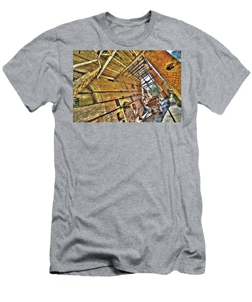 The Abandoned Furnace Quarry Building Men's T-Shirt (Athletic Fit)