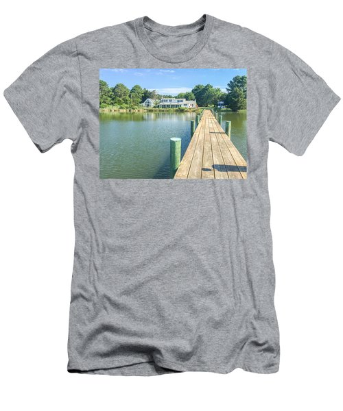 The Abbey On Cooper Point Men's T-Shirt (Athletic Fit)