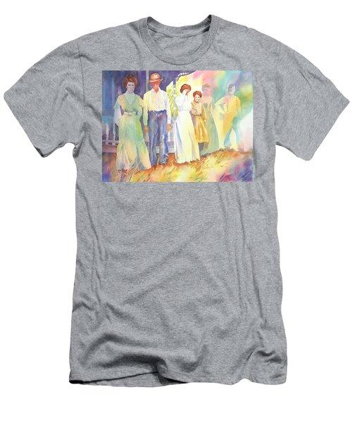 The Aunts Come Calling Men's T-Shirt (Athletic Fit)