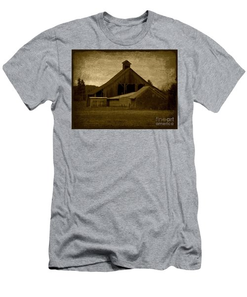 the Barn Men's T-Shirt (Athletic Fit)