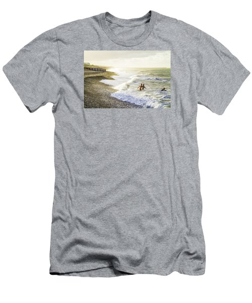 The Bathers Men's T-Shirt (Slim Fit) by Russell Styles